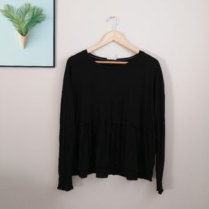 Wilfred basic long sleeve top